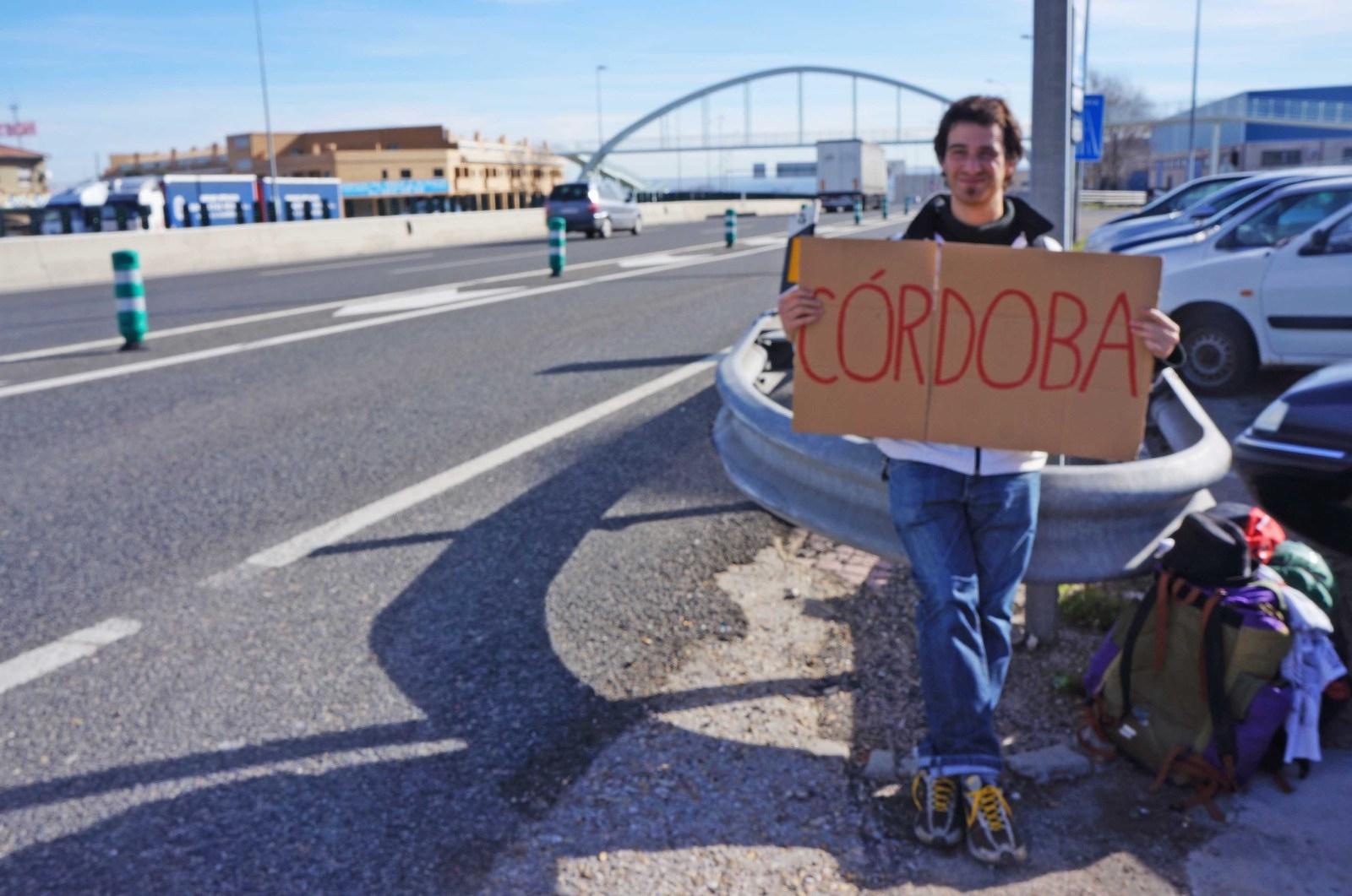 A dedo hacia Andalucía