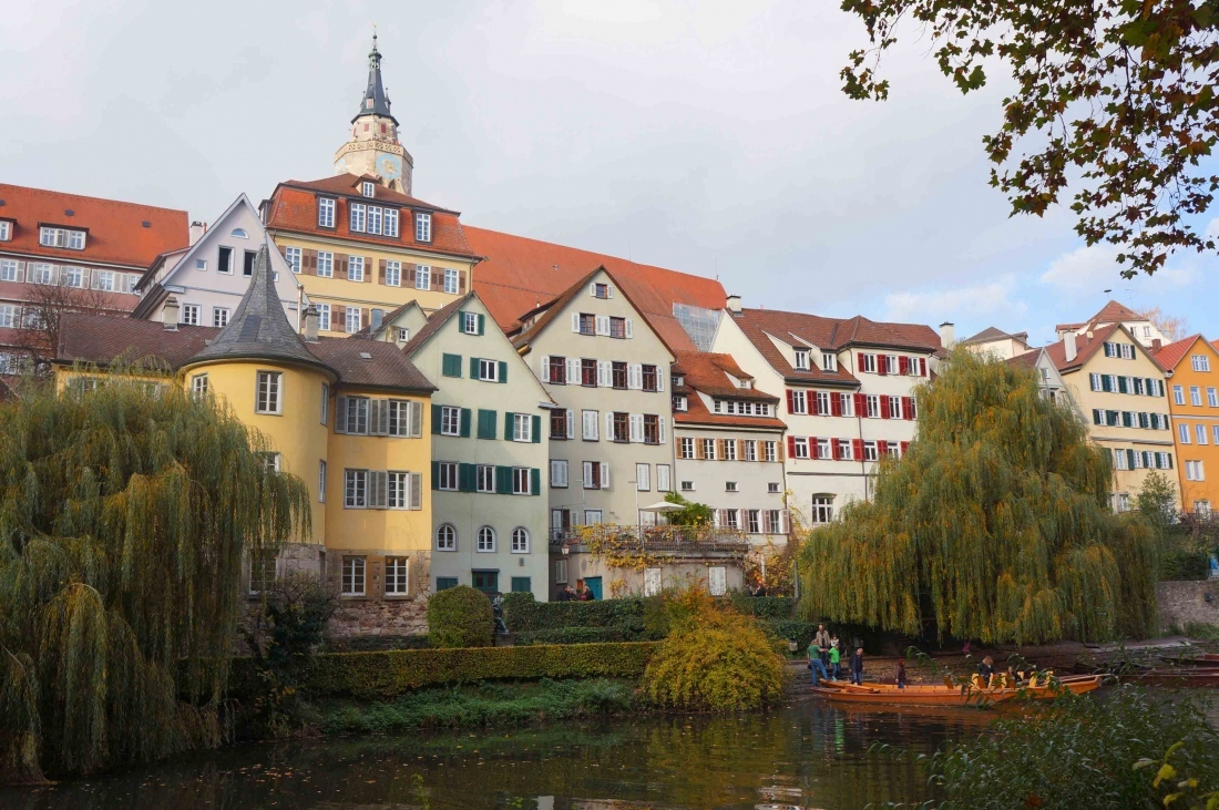 Una escala estudiantil en Tübingen