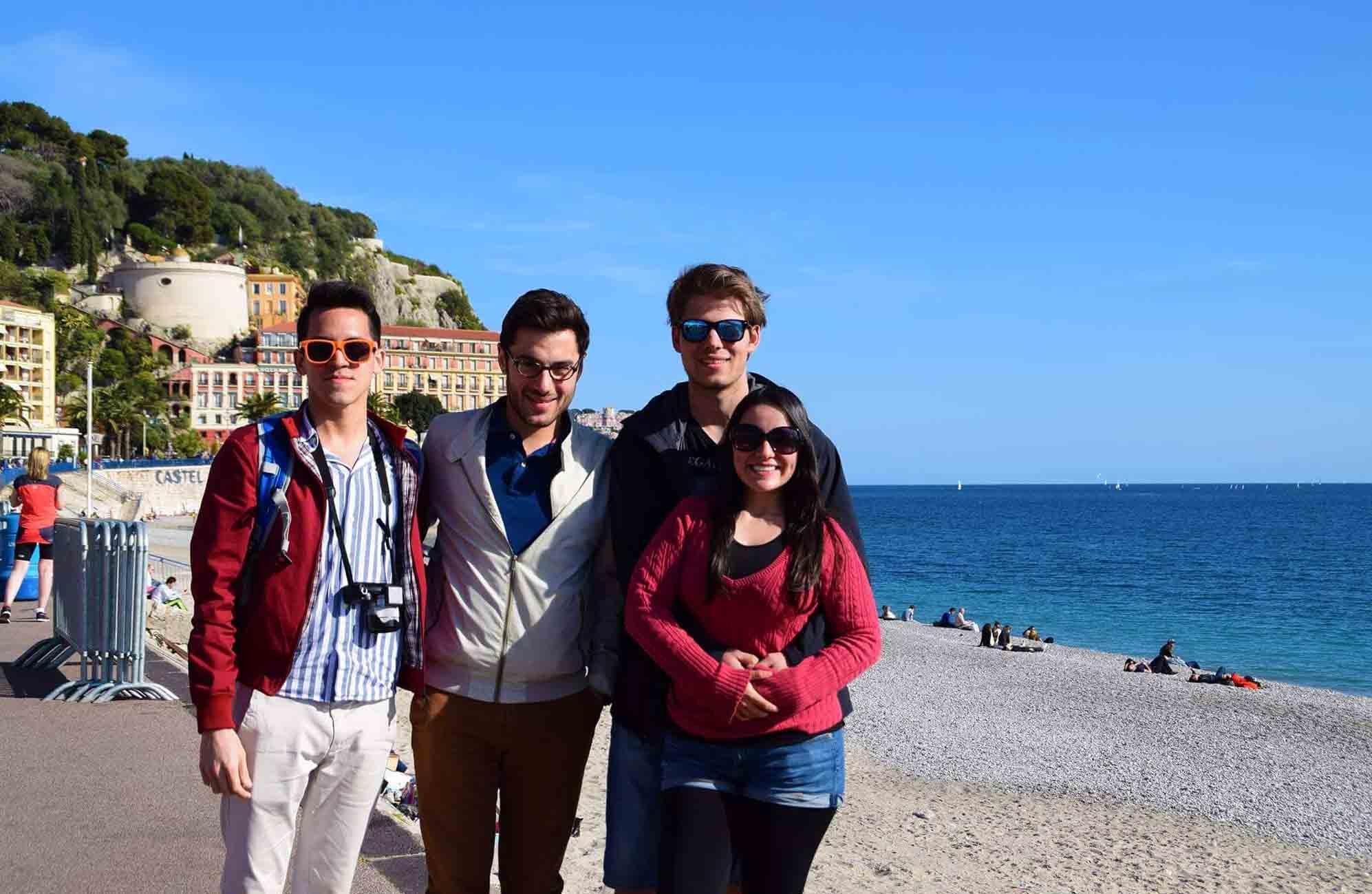 Reencuentros en la Côte d'Azur