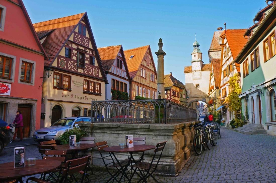 El medievo congelado en Rothenburg
