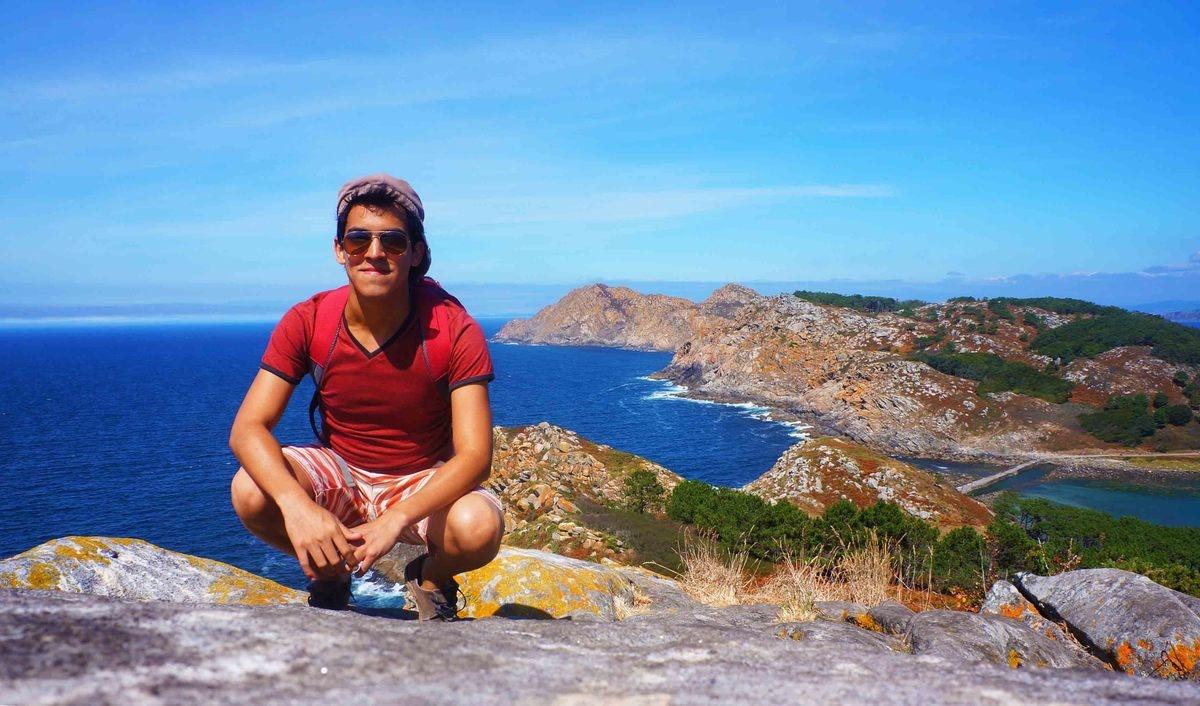 Las islas Cíes, Galicia