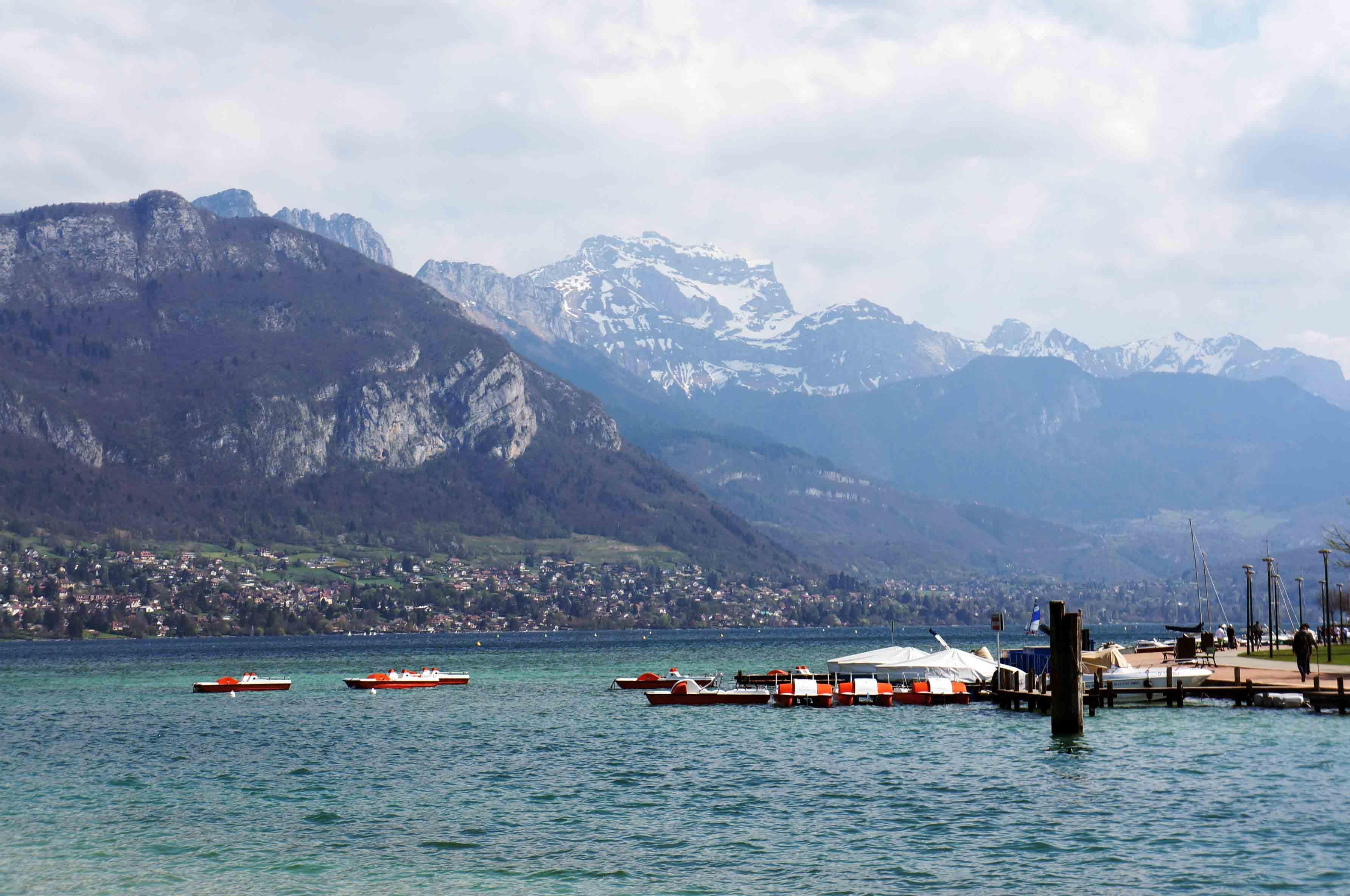 Annecy y una tarde alpina