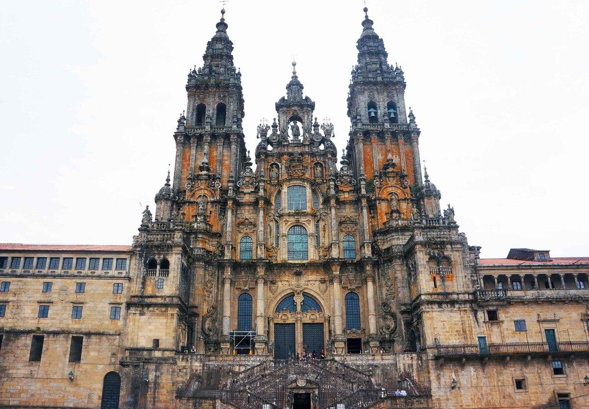 Así es Santiago de Compostela