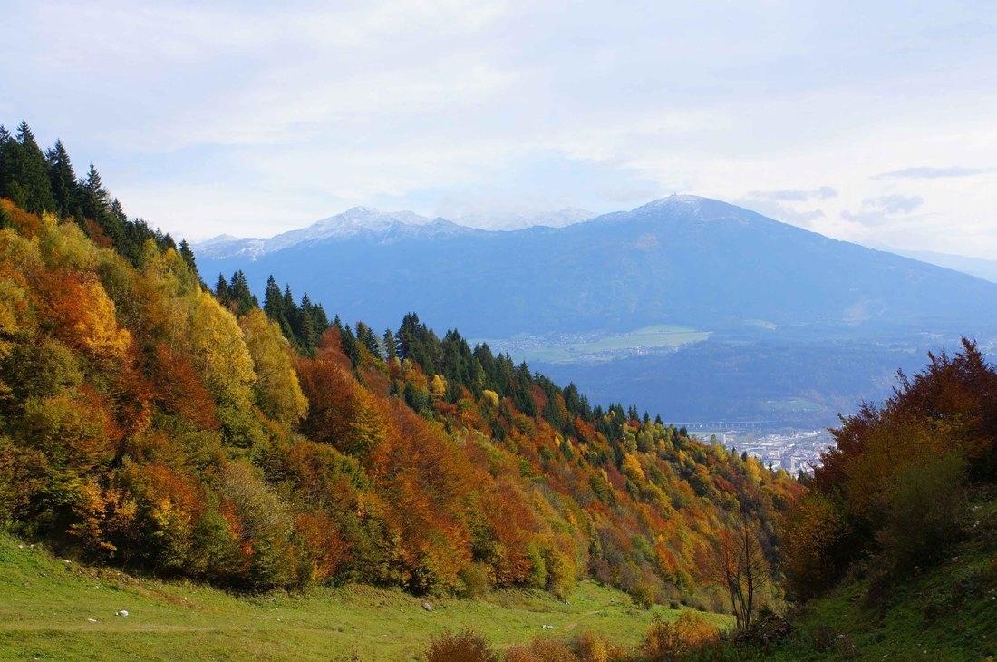 Innsbruck, entre los Alpes