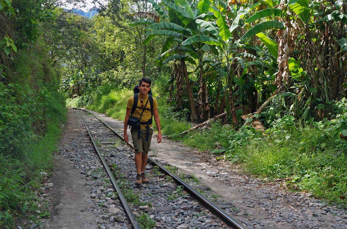 Comenzando la caminata a Aguascalientes