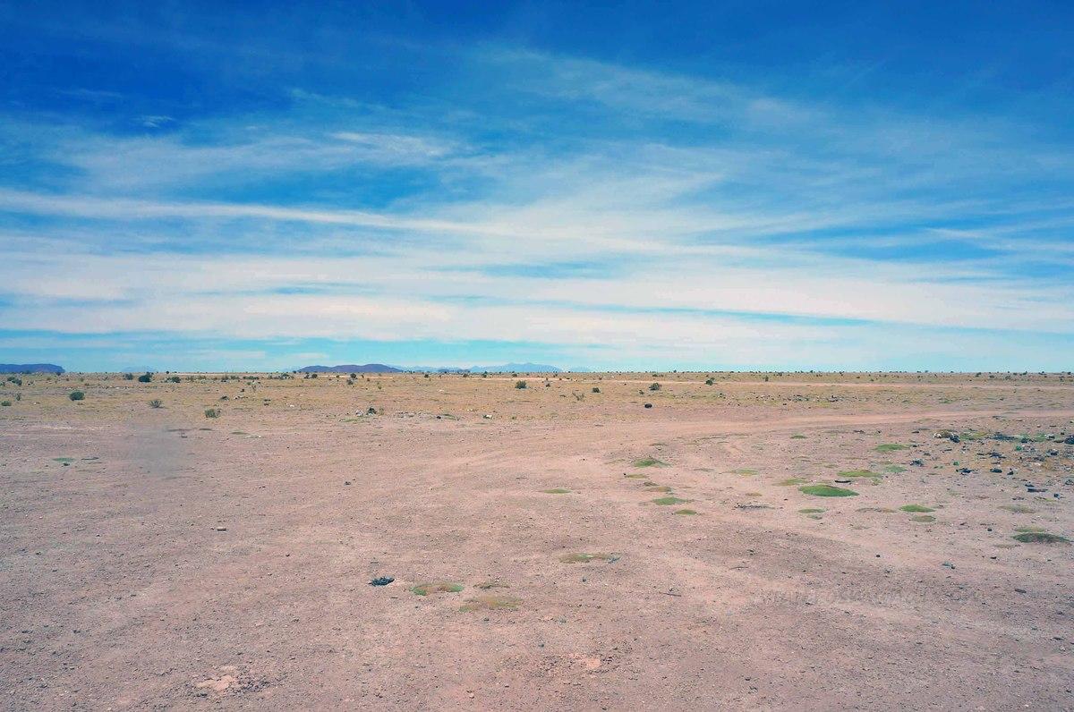 Paisaje desértico en Uyuni