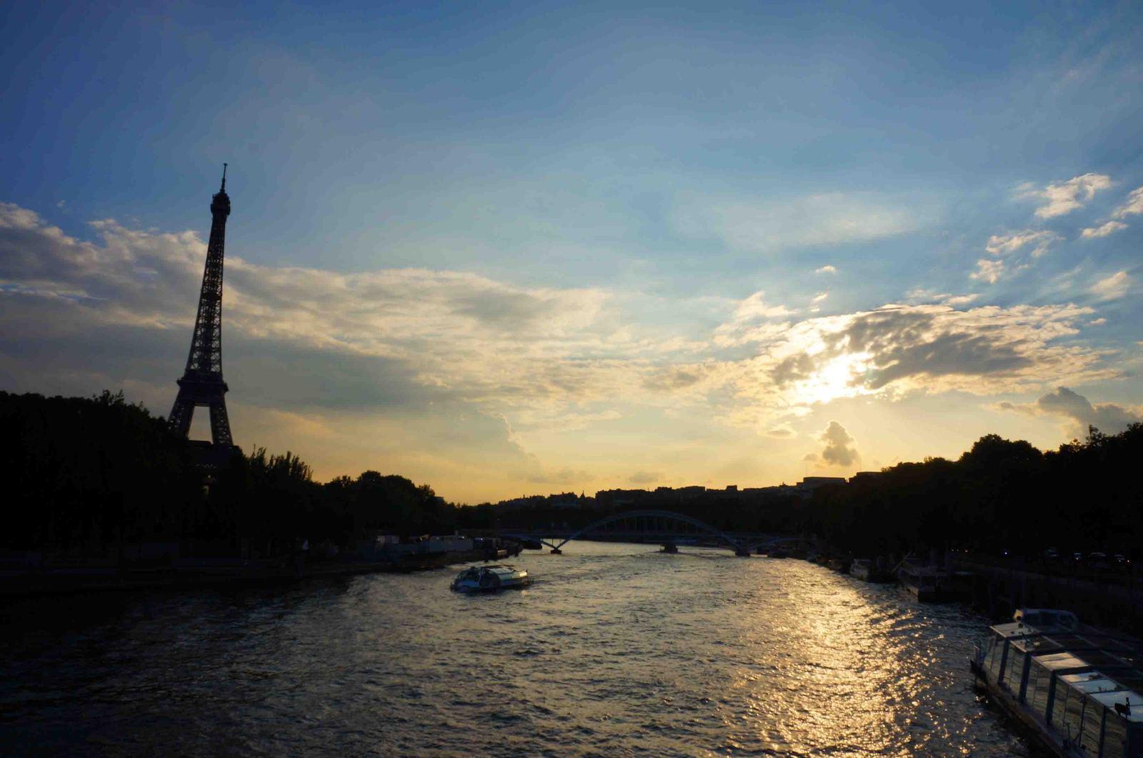 París al atardecer