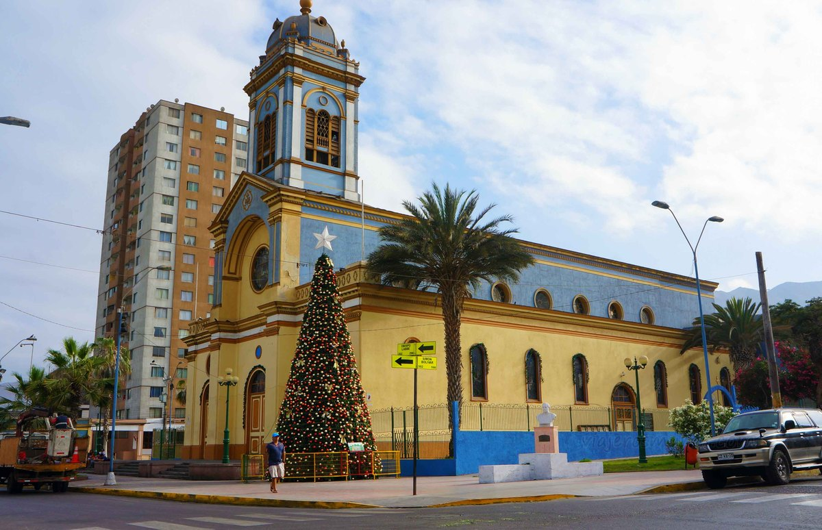 Iglesia católica en Iquique