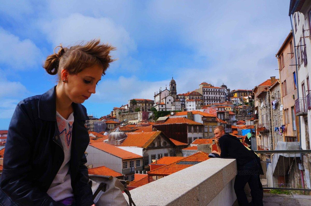 Vista del Centro histórico de Oporto