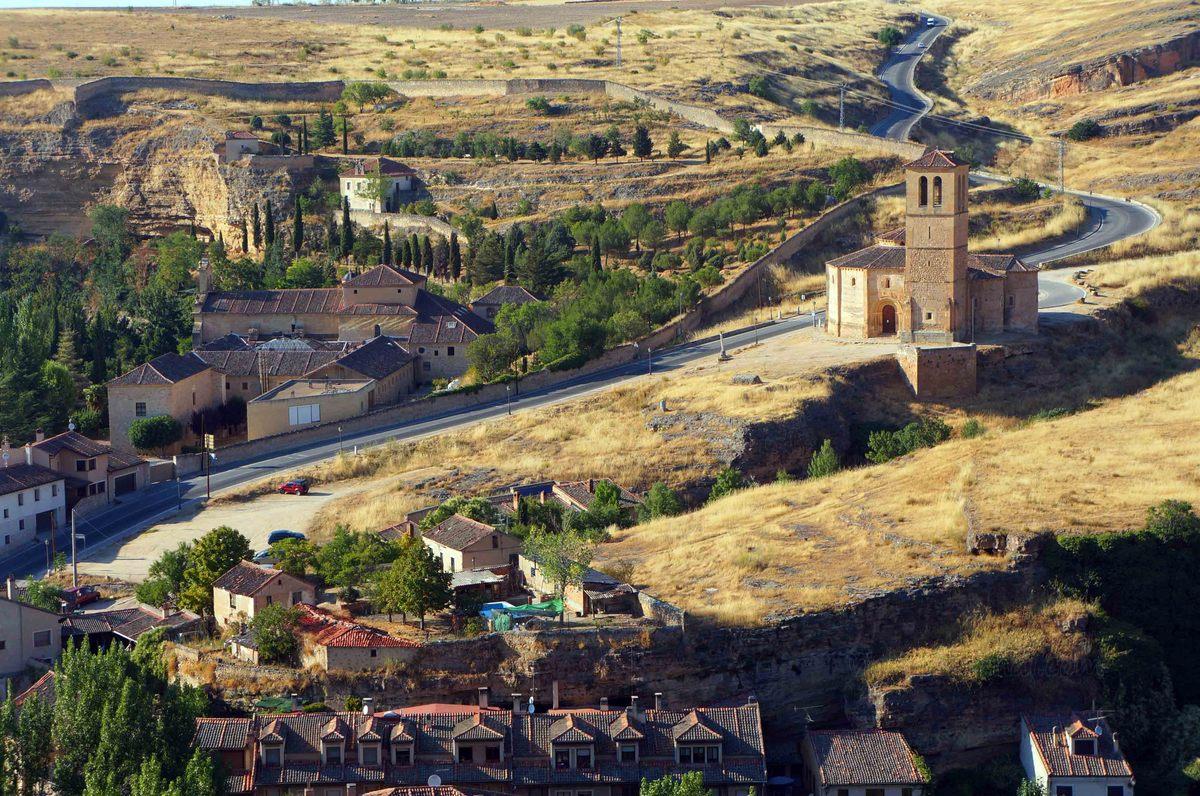 Vista desde el Alcázar de Segovia