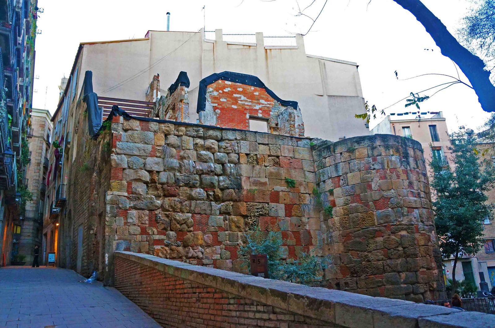 Barrio antiguo de Barcelona