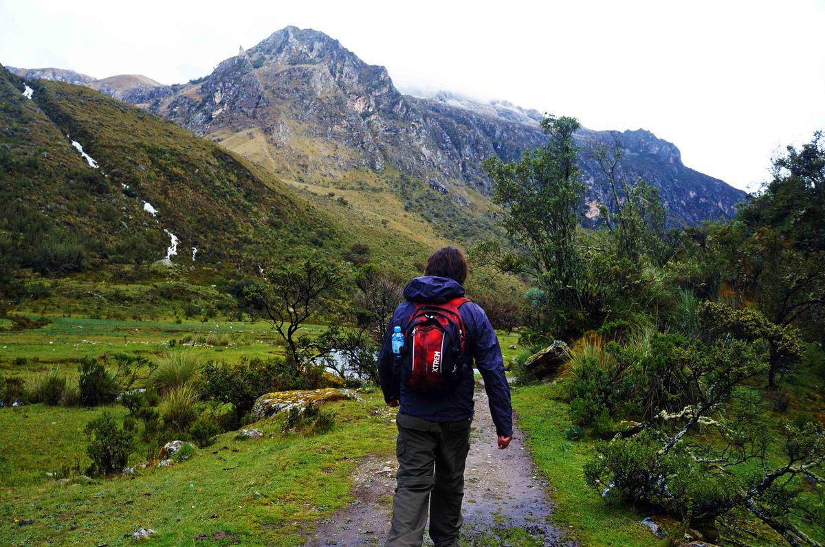 Camino a la laguna 69, Parque Nacional Huascarán