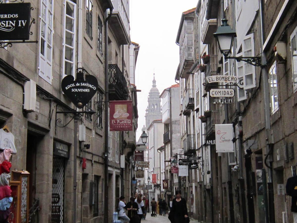 Rua Do Franco. Santiago de Compostela