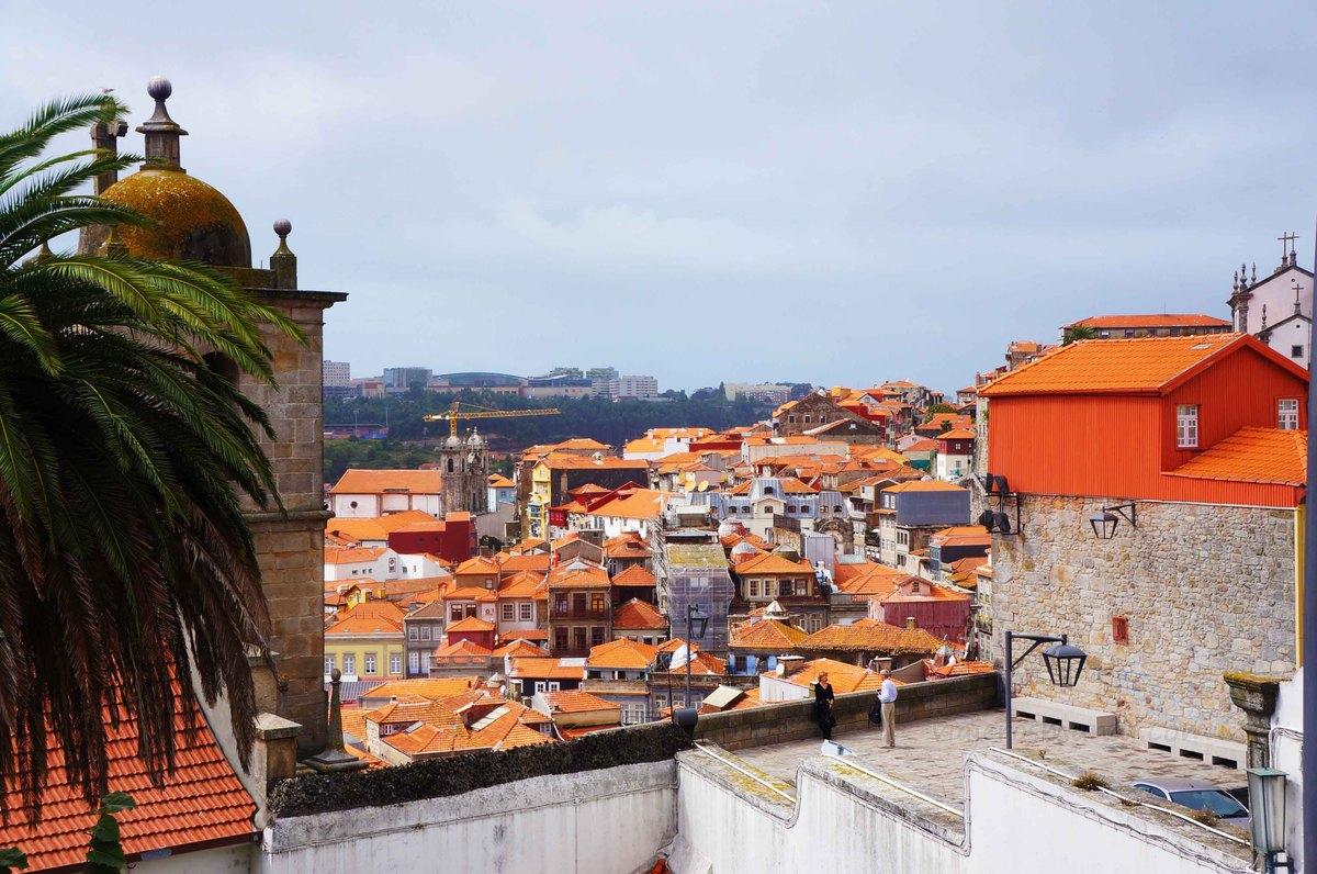 Vista de Centro histórico de Oporto