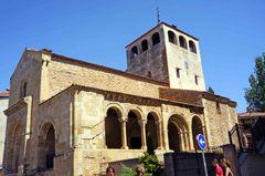 Iglesia románica en Segovia