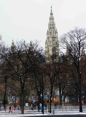 Torre del Ayuntamiento de Viena