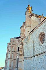 Iglesia en Peñafiel, España