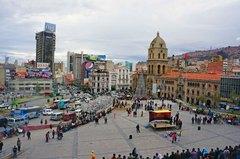Plaza Mayor de San Francisco, La Paz