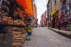 Mercado de Brujas, La Paz
