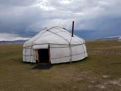 YURTA, casa nomada de Kirguistán
