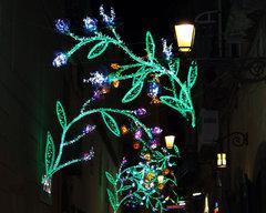 Luces Navidad Salerno 2012
