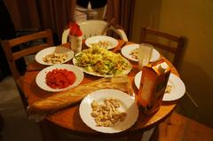 Nuestra cena en un hotel de Ibiza
