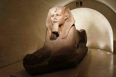 Esfinge, Museo del Louvre, París