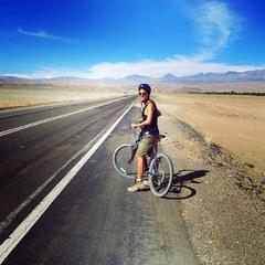 En la ruta a San Pedro de Atacama, desde el Valle de la Luna