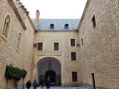 Interiores del Alcázar de Segovia