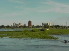 La ciudad algo inundada de Formosa