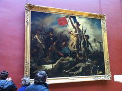 La libertad guiando al pueblo, Museo del Louvre