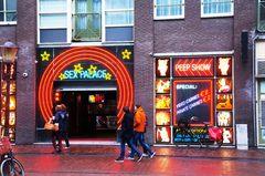 Distrito Rojo en Ámsterdam