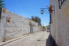 Calles del barrio de Yanahuara, Arequipa