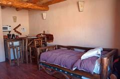 Mi cama en la cabaña :)