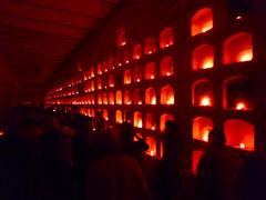 Panteón de Oaxaca en el Día de Muertos