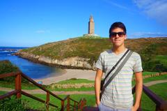 Torre de Hércules en La Coruña