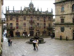 Praza das Praterías, Santiago de Compostela