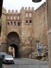 Puerta de la antigua muralla de Segovia