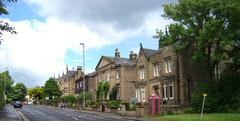 Típicas casas del norte de Inglaterra