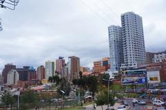 Edificios en el Paseo del Prado, La Paz