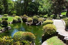 Jardín japonés, bosque de los Colomos, Guadalajara