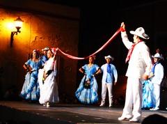 "Baile de ""La Bamba"""
