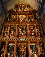 Retablo de la Basílica de El Escorial, España
