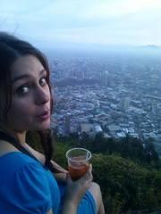 Vista desde el Cerro San Cristóbal