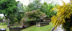 Panorámica del precioso cementerio de Huddersfield