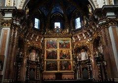 Retablo en la catedral e Valencia