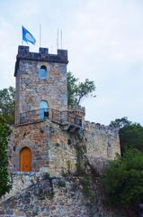 Castillo en La Coruña, España