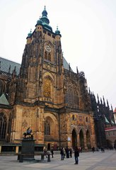 Catedral de San Vito en el Castillo de Praga