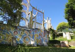 Mural inferior del Jardim Das Águas