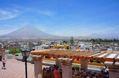 Vista de Arequipa desde el mirador de Yanahuara